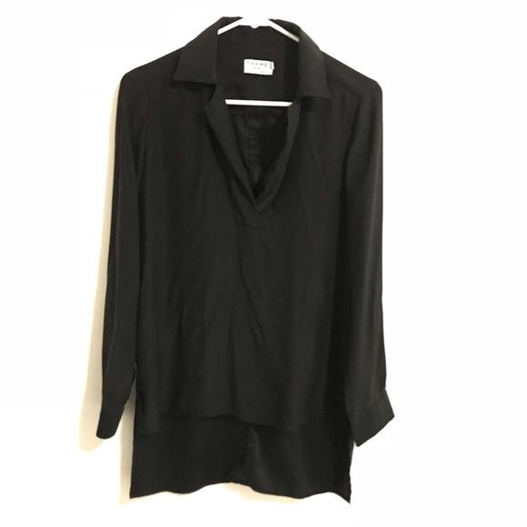8c36521118c779 Frame Denim Tops - FRAME Black Silk Blouse
